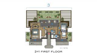 Eleganta hus till salu i Bodrum med många funktioner, Planritningar-2