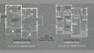 Nyligen Bodrum villor med 3 sovrum i Yalikavak, Planritningar-1