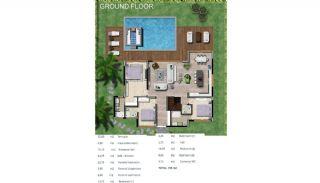 Bodrum Yalıkavak'ta Özel Havuzlu Lüks Müstakil Villa, Kat Planları-2