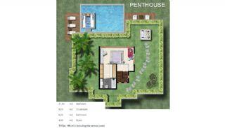 Bodrum Yalıkavak'ta Özel Havuzlu Lüks Müstakil Villa, Kat Planları-3