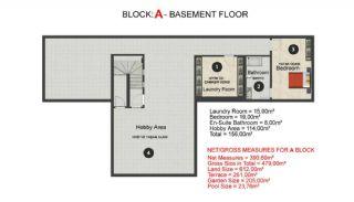 Contemporary Bodrum Villas with Palmarina Vistas, Property Plans-1
