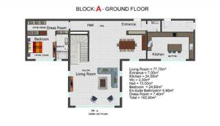 Contemporary Bodrum Villas with Palmarina Vistas, Property Plans-3