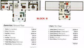Contemporary Bodrum Villas with Palmarina Vistas, Property Plans-5