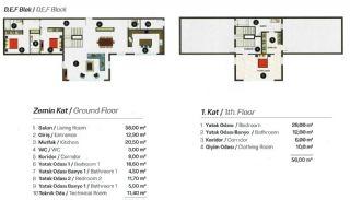 Contemporary Bodrum Villas with Palmarina Vistas, Property Plans-7