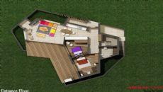 Gumbet Villas, Vloer Plannen-1