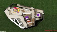 Gumbet Villas, Vloer Plannen-2