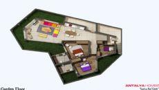Gumbet Villas, Vloer Plannen-3