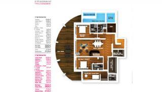 Bodrum'da Muhteşem Tasarıma Sahip Akıllı Villalar, Kat Planları-4