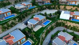 Konacık'ta Site İçinde Modern Tasarım Satılık Villalar, Bodrum / Konacık - video