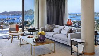 Yachthafen Aussicht Luxus Wohnungen zum Verkauf in Bodrum, Foto's Innenbereich-1