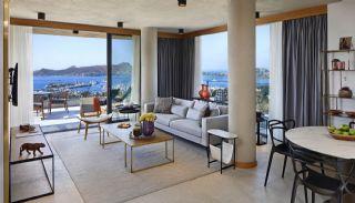 Yachthafen Aussicht Luxus Wohnungen zum Verkauf in Bodrum, Foto's Innenbereich-2