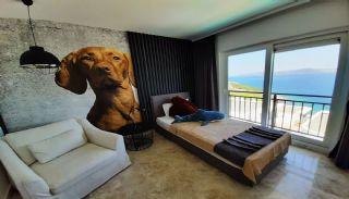 Havsutsikt fastighet med privat strand i Bodrum Adabükü, Interiör bilder-11