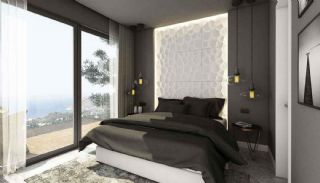 Detached Villas in Bodrum Mugla with Sea and Nature View, Interior Photos-5