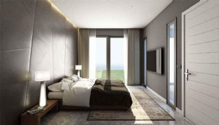 Detached Villas in Bodrum Mugla with Sea and Nature View, Interior Photos-7