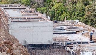 Villas Contemporaines Hautes Plafonds Vue Mer à Bodrum,  Photos de Construction-2