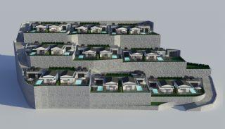 Villas Contemporaines Hautes Plafonds Vue Mer à Bodrum, Projet Immobiliers-1
