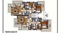 Fluss Wohnungen, Immobilienplaene-1