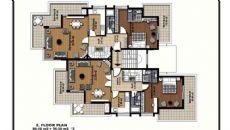Fluss Wohnungen, Immobilienplaene-3