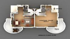 Belek Huis, Vloer Plannen-1