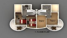 Belek Evi, Kat Planları-2