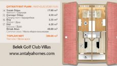 Belek Golf Club Villen, Immobilienplaene-3
