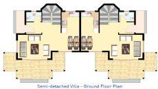 Belek Golf Villas I, Vloer Plannen-5