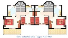 Belek Golf Villas I, Vloer Plannen-6