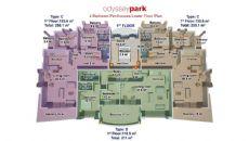 Odyssey Park, Planritningar-7