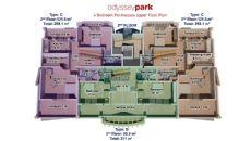 Odyssey Park, Planritningar-8
