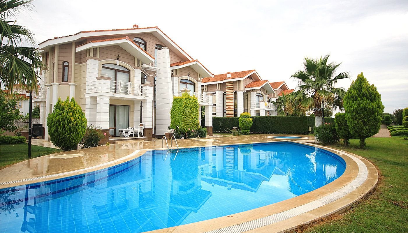Villa de luxe enti rement meubl e vendre belek for A vendre villa de luxe