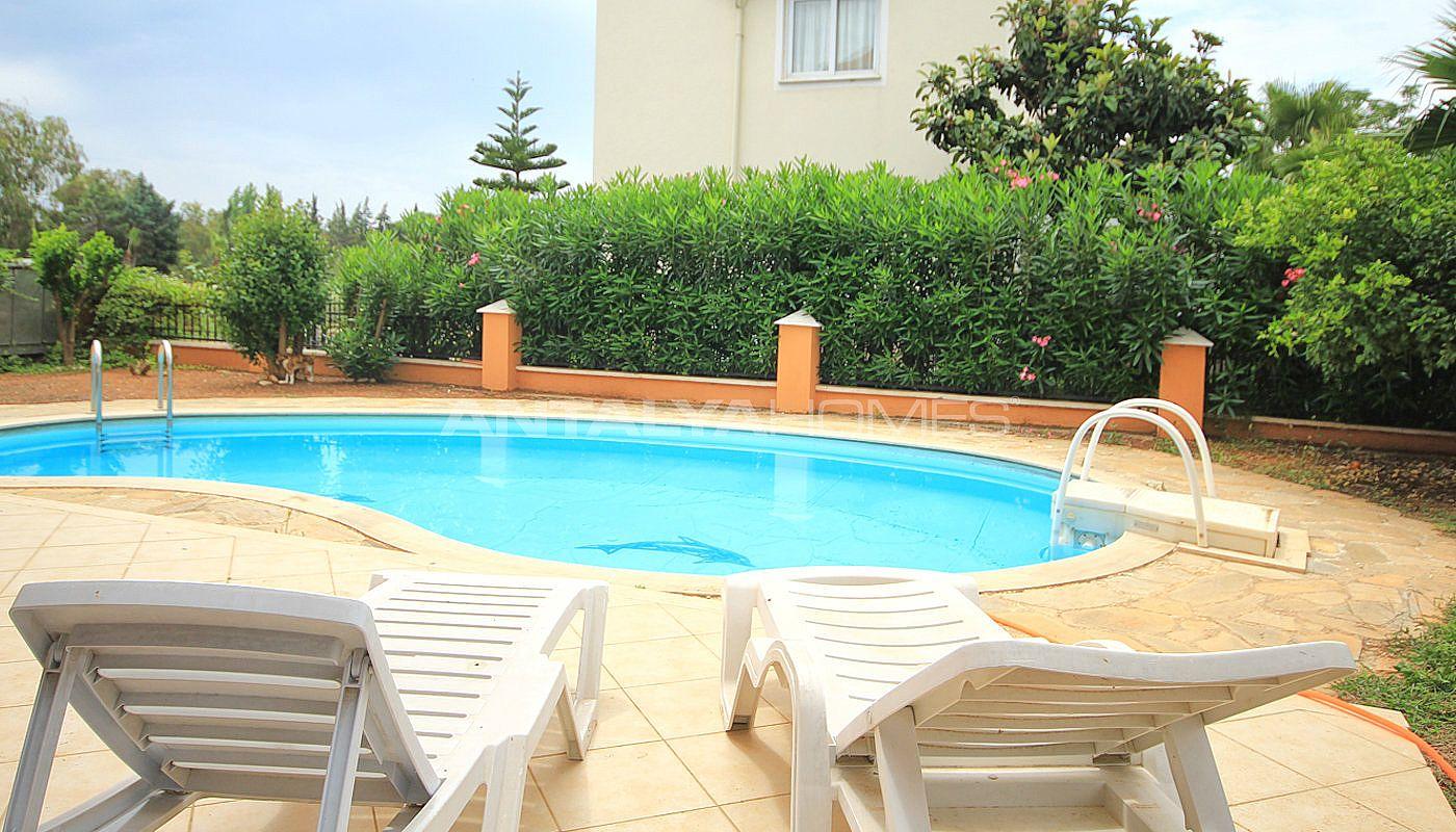 Villa meubl e de 4 chambres belek en turquie avec - Villa avec piscine privee ...