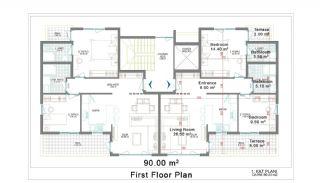New Apartments for Sale in Belek, Planritningar-2