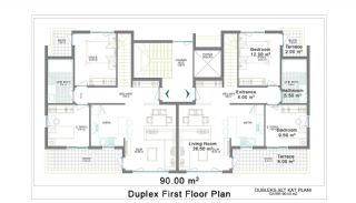 New Apartments for Sale in Belek, Planritningar-3