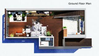 4 sovrum bekväma villor med privat pool i Belek, Planritningar-2