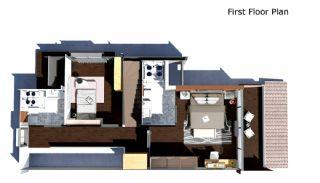 4 sovrum bekväma villor med privat pool i Belek, Planritningar-3