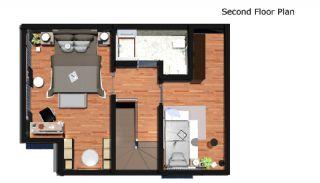 4 sovrum bekväma villor med privat pool i Belek, Planritningar-4
