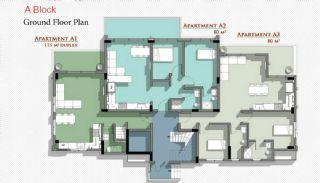 New Belek Apartments with Taurus Mountain View, Property Plans-1