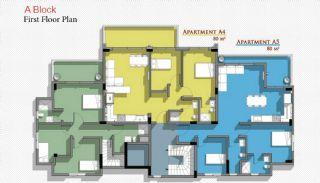 Новые Апартаменты в Белеке с Видом на Горы Тавр, Планировка -2