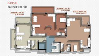 Новые Апартаменты в Белеке с Видом на Горы Тавр, Планировка -3