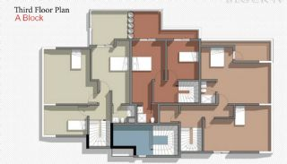 New Belek Apartments with Taurus Mountain View, Property Plans-4