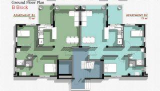 Новые Апартаменты в Белеке с Видом на Горы Тавр, Планировка -5
