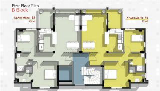Новые Апартаменты в Белеке с Видом на Горы Тавр, Планировка -6