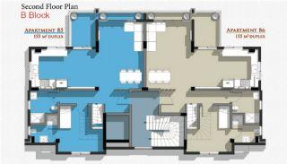 Новые Апартаменты в Белеке с Видом на Горы Тавр, Планировка -7