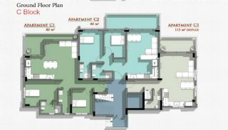 New Belek Apartments with Taurus Mountain View, Property Plans-9