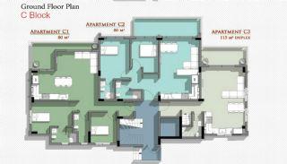 Новые Апартаменты в Белеке с Видом на Горы Тавр, Планировка -9