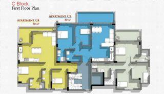 Новые Апартаменты в Белеке с Видом на Горы Тавр, Планировка -10