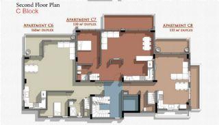 Новые Апартаменты в Белеке с Видом на Горы Тавр, Планировка -11