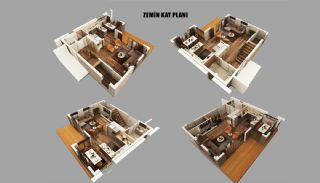 New Built Private Villas with Fully Furniture in Belek, Property Plans-4