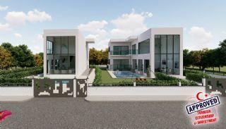 Villa Minimaliste Près du Parcours de Golf à Belek, Belek / Centre