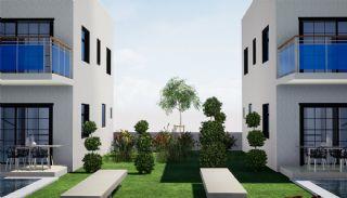 Halfvrijstaande villa's omgeven door groene gebieden in Belek, Belek / Centrum - video